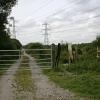 Gate onto Goss Moor