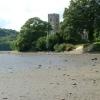 St Winnow Church & the Fowey at Low Tide