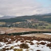 Strathpeffer from the path to Knock Farrell