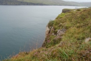 Cliffline above Loch Pooltiel