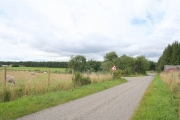 Delny Muir Farm to the left.