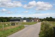 Farmhouse by Tullich Muir.
