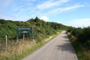 Approaching Camore Wood.