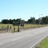On the A949:  Dornoch Academy is on the left..