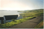 Entering the township of Waternish