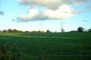 Farmland near Tryddyn Cottage