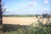 View of Walpole across the fields