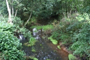 The River Fal at Trerice Bridge