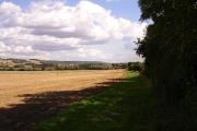 East from Lenham Forstal Road