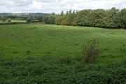 Farmland to the north of Wyck Rissington