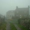 Bryn Eithin farm in the mist