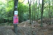 Mountain Bike Freeride, Okeford Hill, Dorset