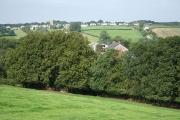 Rackenford: towards the village