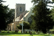 St. Andrew's church, Cotton, Suffolk
