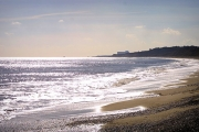 Dunwich Beach, Looking Towards Sizewell Nuclear Power Station