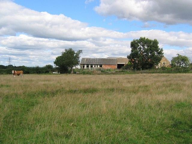 Padleywood Farm north of Morton
