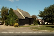 Old barn at Blackmore End, Essex
