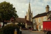 Woolpit village, Suffolk