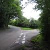 Rural traffic island