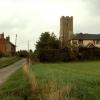 Barnardiston village from the south