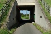 Footpath under A50