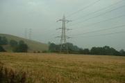 Farmland by the A5
