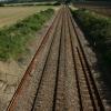 Railway line at Thurston
