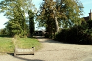 Entrance to Oak Farm, Pebmarsh, Essex