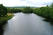 River Spey, Downstream from Garten Bridge