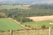 The view north from High Moorsley