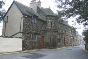 The Houses on Castle Chain, Pontefract.