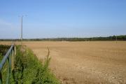 Harrowed field near Great Paddock Farm