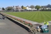 Bowling greens at Splott Park
